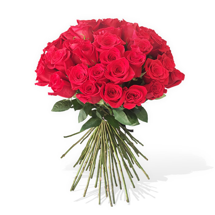 50 Long Stem Red Roses